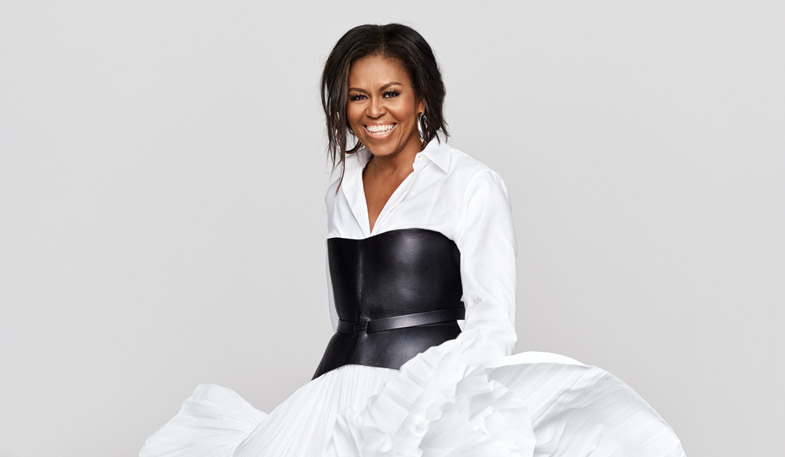 michelle obama - oprah winfrey - elle indonesia