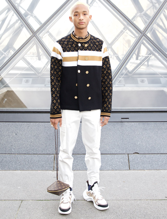 jadden smith Louis Vuitton fall winter 2019 show - cover