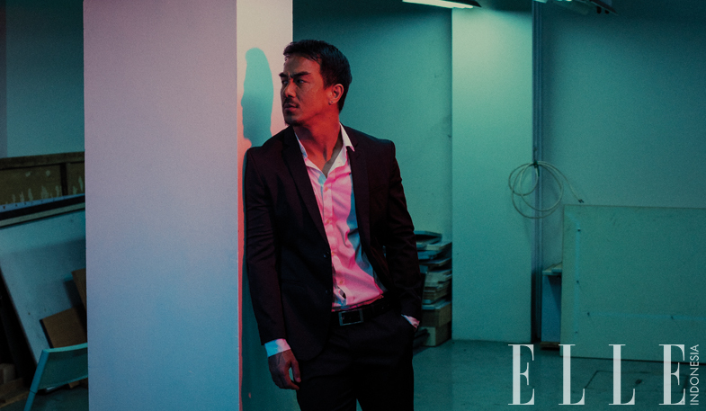 hit & run - joe taslim interview elle indonesia