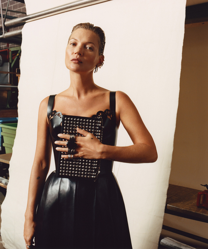 kate moss for alexander mcqueen campaign