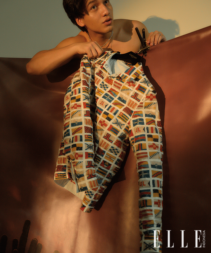 jefri nichol interview elle indonesia maret 2020 - photography chris bunjamin - styling ismelya muntu