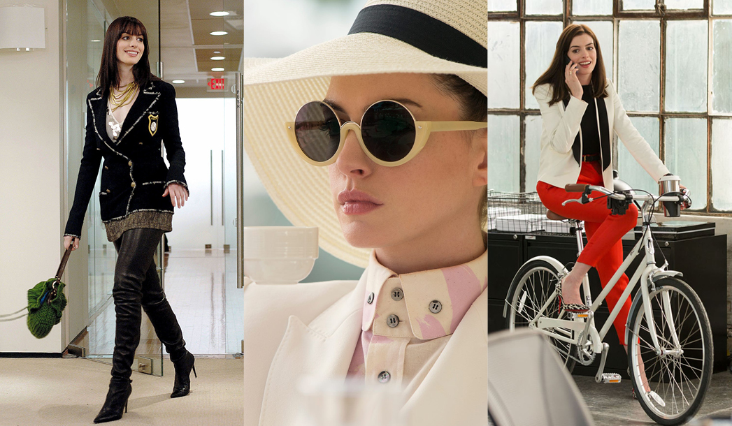 anne hathaway style in the movies
